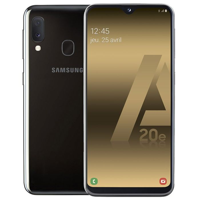 smartphone samsung galaxy a20e 32 go noir