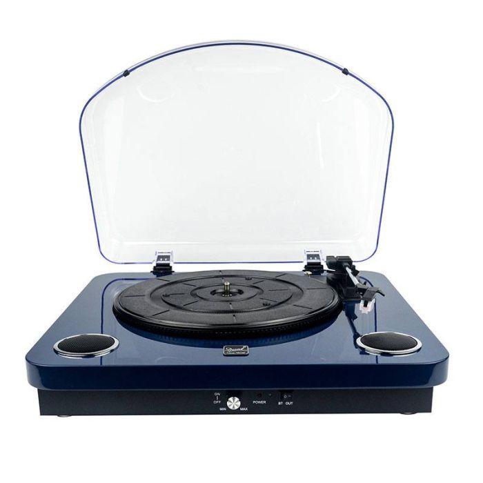 platine vinyle dl p10db bleu