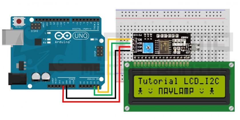 Tutorial LCD con I2C, controla un LCD con solo dos pines