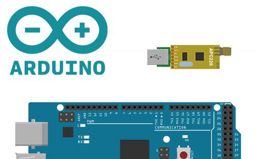 Arduino Y Módulo Inalámbrico Rf Apc220 Electrogeek