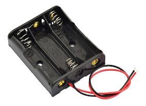 portapila 3 aa porta pila triple con cables D NQ NP 918160 MLA31079829063 062019 Q - Electrogeek