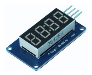modulo display 4 digitos controlador tm1637 arduino mona D NQ NP 835273 MLA40440263654 012020 F - Electrogeek