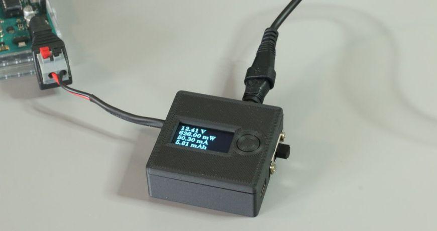 mida el voltaje y la corriente con el medidor tiny v a 5ed841b4e61dd - Electrogeek