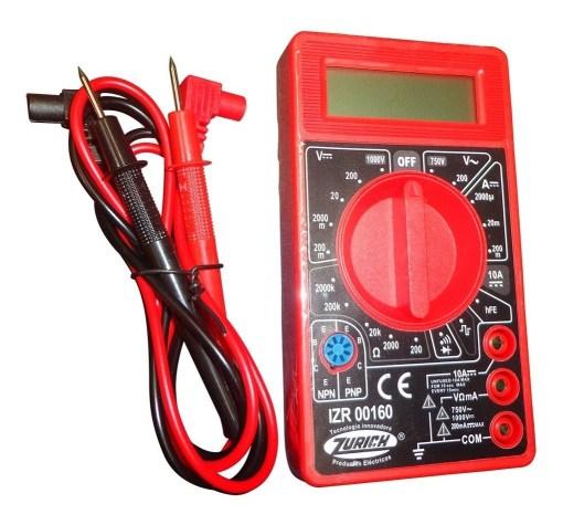 multimetro tester digital zurich zr 160 con buzzer 9v D NQ NP 837534 MLA31037623638 062019 F - Electrogeek