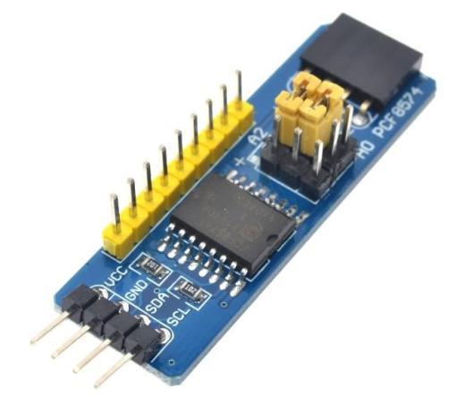 PCF8574 I2C 8 bit Port Expander Breakout Board pmdway - Electrogeek