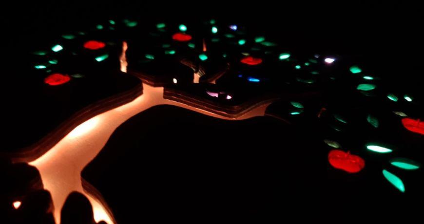 la caja de sombras de bricolaje retrata las estaciones con un estilo luminiscente 5f3dc55b3c6c8 - Electrogeek