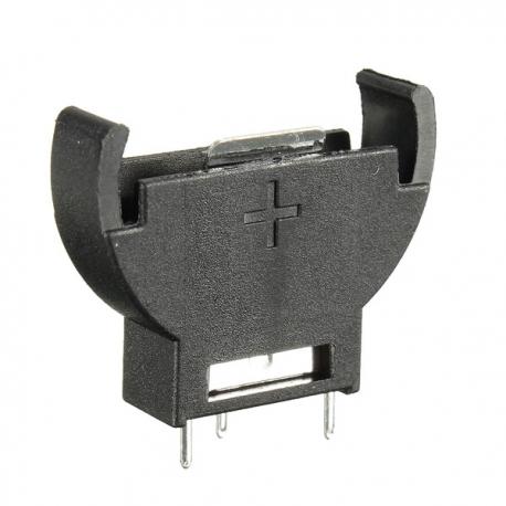 portapilas vertical para 1 pila boton de 20mm cr2032 - Electrogeek