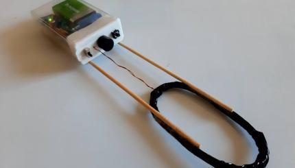 detector de metales minimo hecho con un arduino y una bobina de alambre 5f90d3ae2a481 - Electrogeek