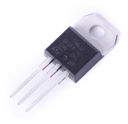 pack 5 x tiristor scr tyn612 to 220 12a 600v tyn812 tyn1012 D NQ NP 637821 MLA41890686978 052020 F 1 - Electrogeek