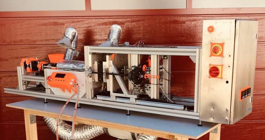 una plataforma de reciclaje casera convierte los desechos plasticos en nuevos productos 5fbda6e350f8f - Electrogeek