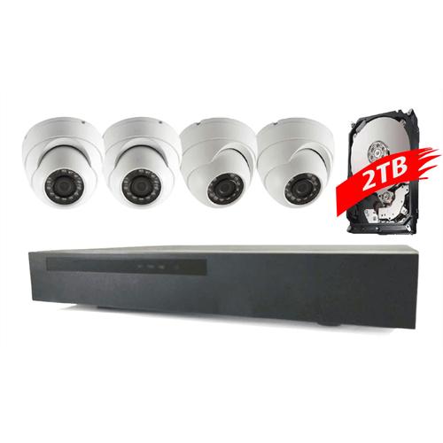 3MP Eyeball domes and NVR