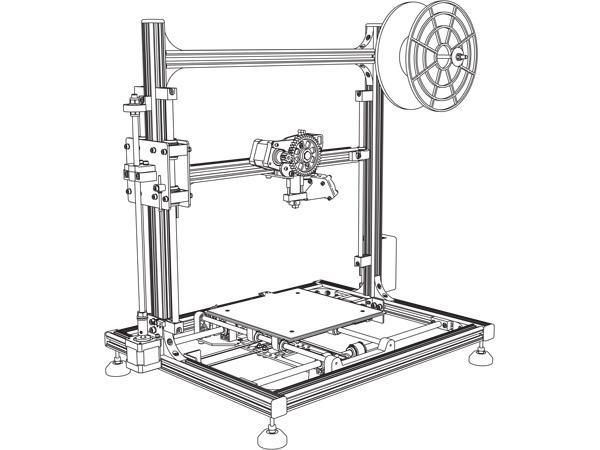 Köp 3D-skrivare Velleman K8200 (byggsats) till rätt pris