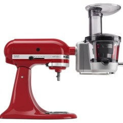 Kitchen Aid Standing Mixer Small Island With Chairs Kitchenaid Announces Food Processor And Juicer Sauce ...