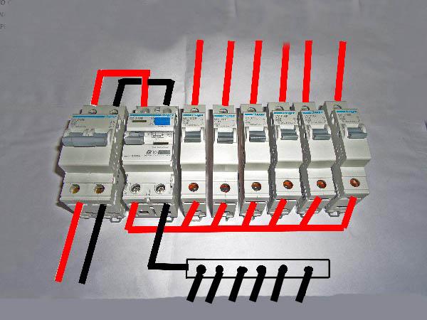 wylex split load consumer unit wiring diagram car stereo kenwood 6 stromoeko de diy a and installation distribution board rh electrolesk com rcbo uk