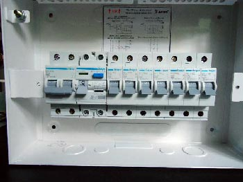 Three Phase Db Wiring Diagram Diy Wiring A Consumer Unit And Installation Distribution