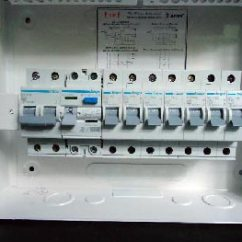 1 Way Switch Wiring Diagram Uk Four Door Access Controller Diy A Consumer Unit And Installation - Distribution Board- Diagrams
