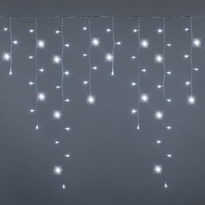 Creare effetti speciali all'esterno nel periodo natalizio è il modo migliore per arricchire una casa e. Lotti Tende Luminose Natalizie Vendita Online