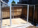 completed building frame