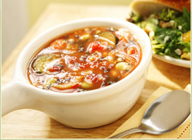 Vegetarian Roasted Tomato & Pepper Bisque
