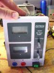 Extech 382200 bench power supply