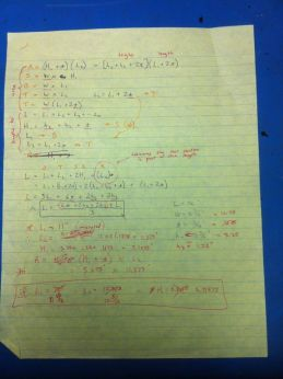 Cabinet calculations, pg2