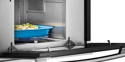 speed racks for kitchen pink countertops built in over the range microwaves electrolux get great results with