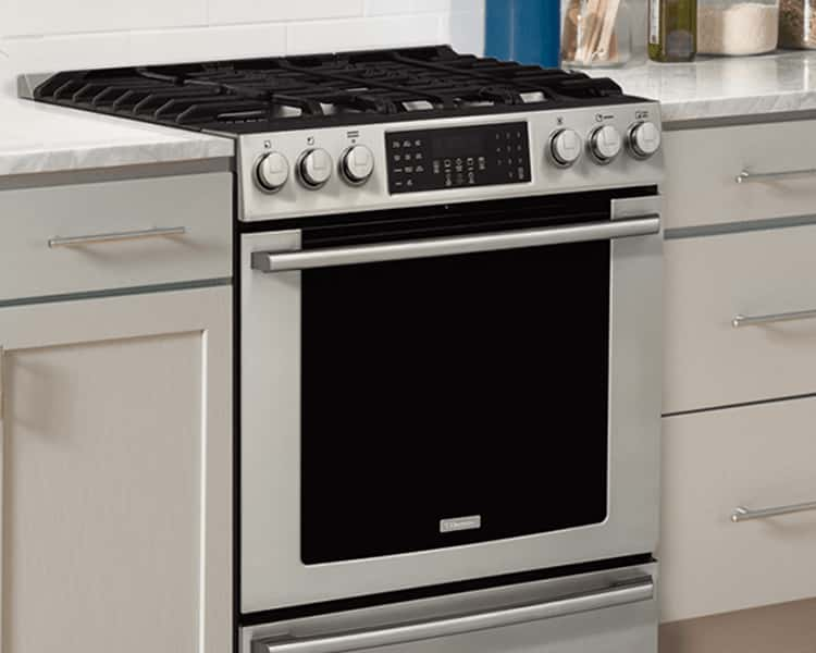 kitchen ranges gas rubbermaid trash can compare electrolux induction dual fuel electric view all