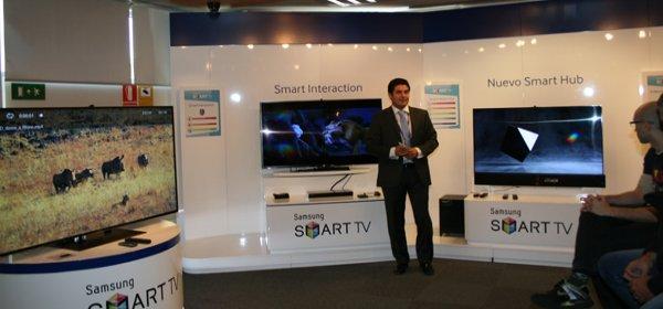 Madrid acogi la presentacin del nuevo Smart TV de Samsung que incorpora One Connect un dispositivo que permite tener la televisin siempre