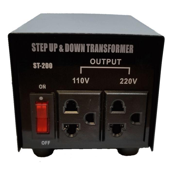 transformateur convertisseur de voltage 110v 220v 220v 110v 200 watt