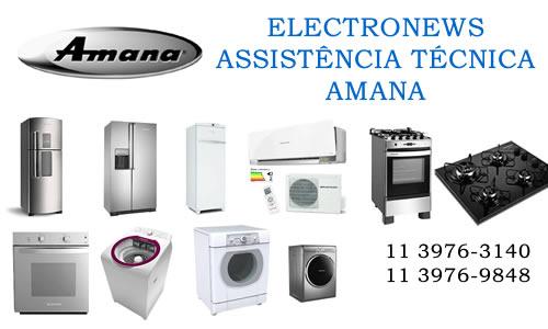 Assistência técnica Amana