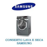 Conserto Lava e Seca Samsung