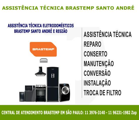 Assistência técnica Brastemp Santo André