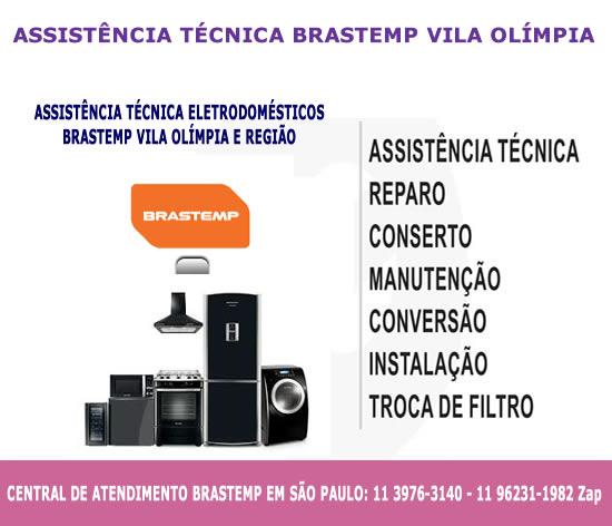 Assistência técnica Brastemp Vila Olímpia