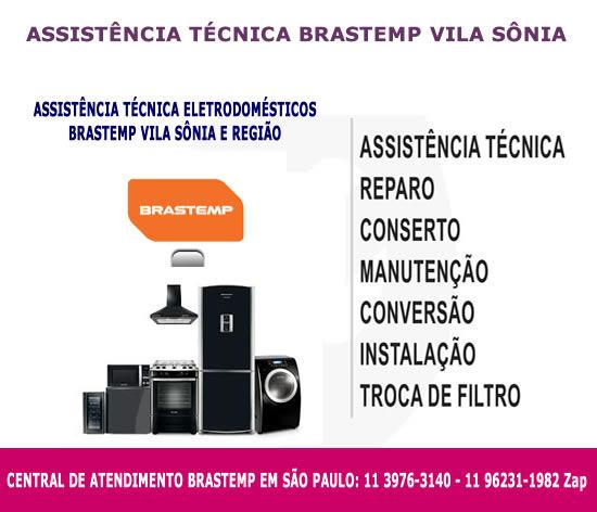 Assistência técnica Brastemp Vila Sônia