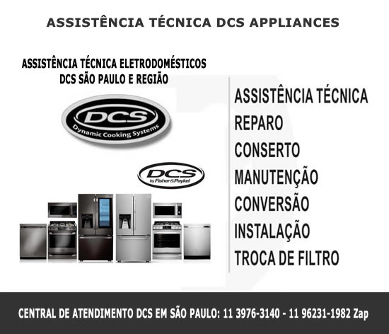 Assistência técnica Dcs