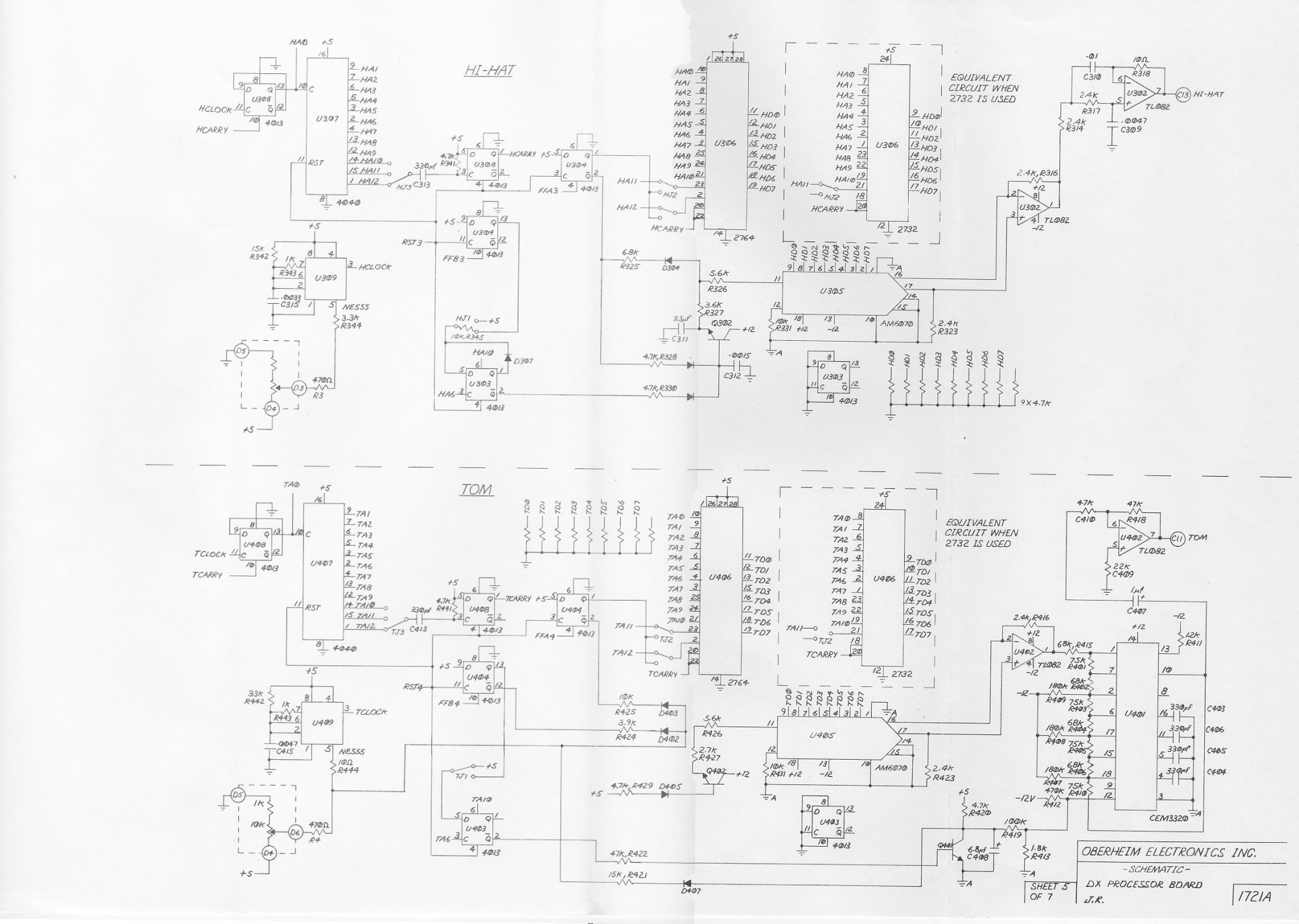 hight resolution of  dx main board schematic 5 of 7