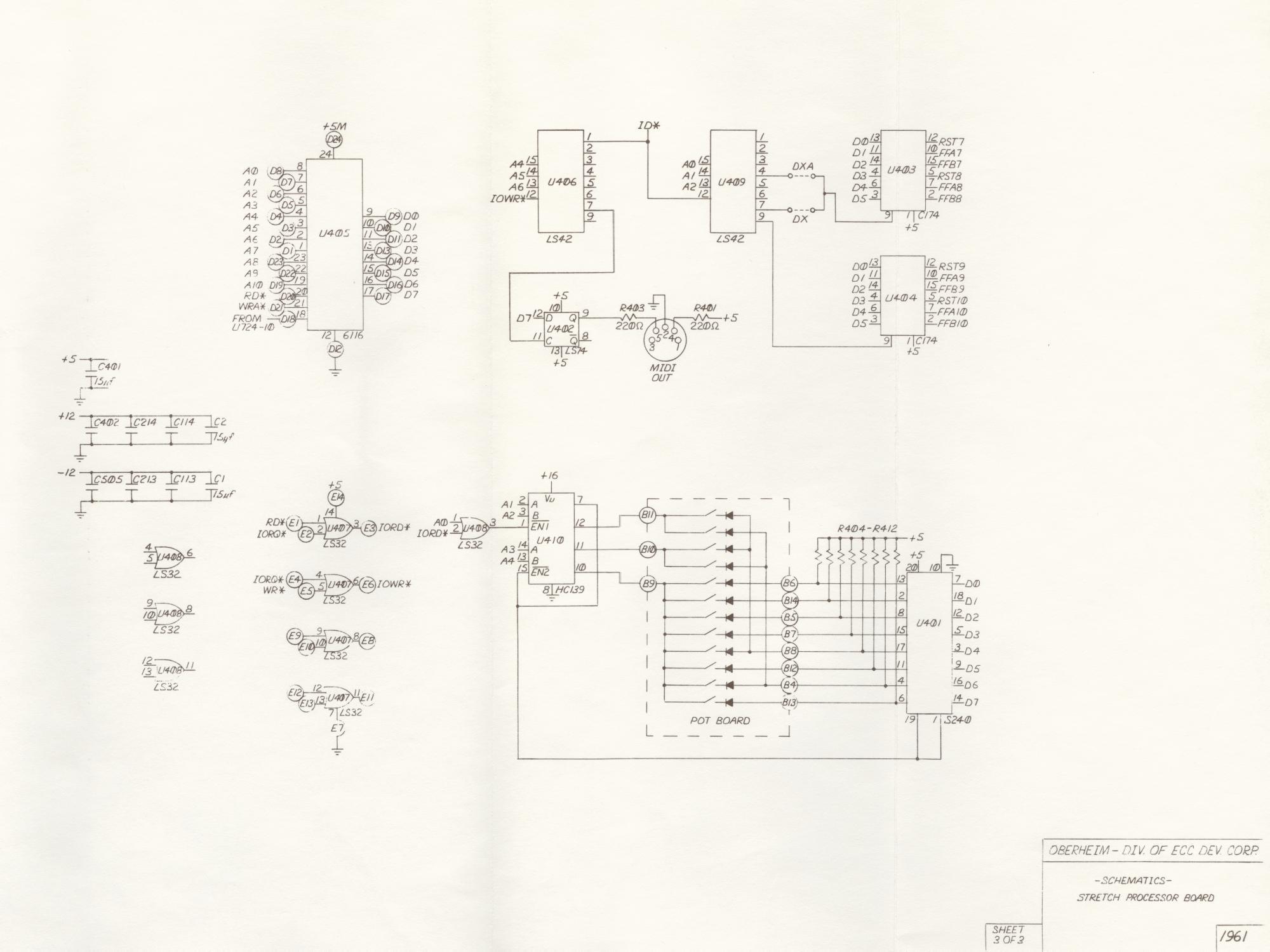 Miscellaneous Oberheim Files
