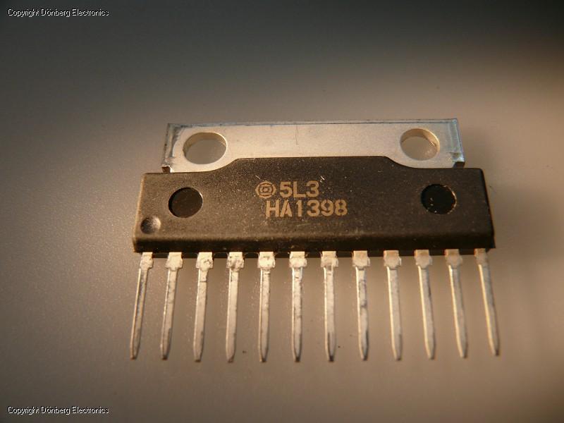 Semiconductor: HA1398 (HA 1398) - DUAL 5.8W POWER AMPLIFIER... - US$ Site