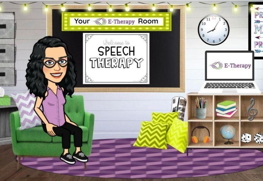 bitmoji classroom for SLP