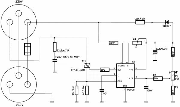 2kw ac brushed motor controller