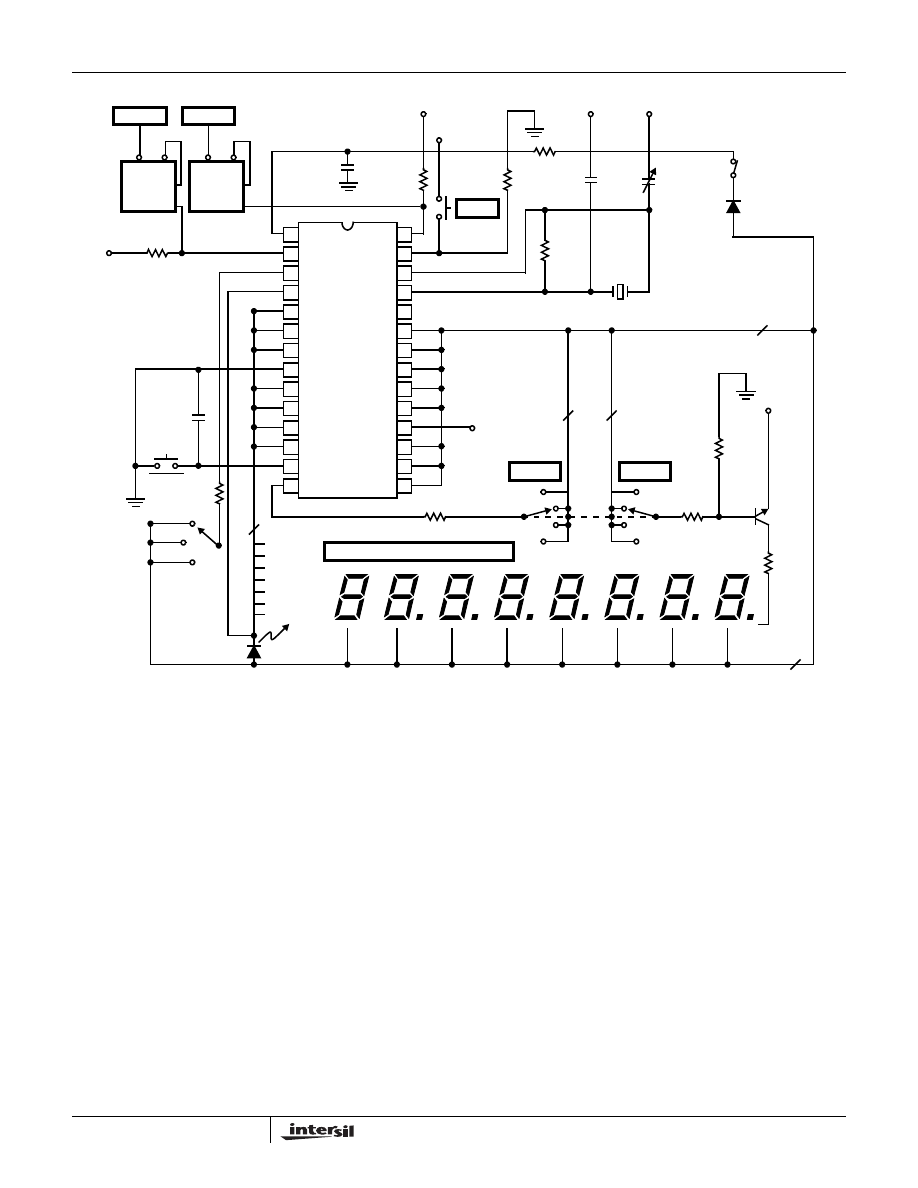 Icm7216a Circuit 19 40mhz Frequency Counter Typical