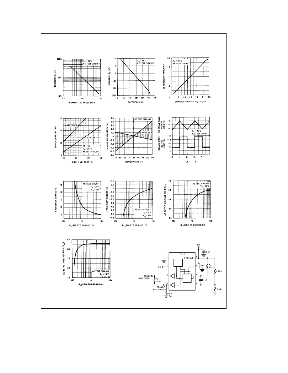 LM566CN DATASHEET PDF