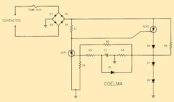 Circuito Multisensible esquema