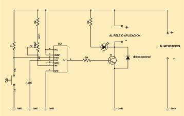 Temporizador circuito