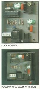 Alarma GSM placa