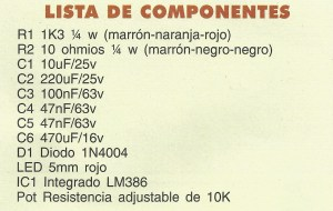 KIT 26 componentes