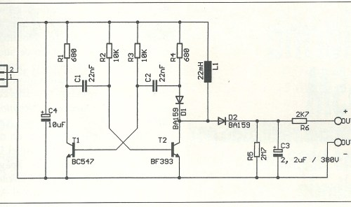 Medidor comprobador Diagrama