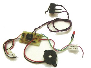 MONTAJE / Detector de metales operando en modo continuo