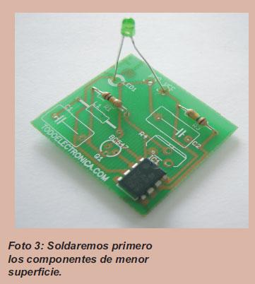 Montaje componentes