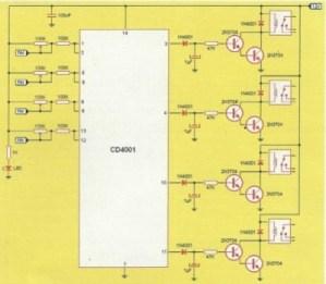 APRENDE PRACTICANDO / Cuádruple sensor por tacto